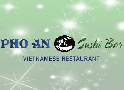 Menu Pho An Sushi Bar Spring 2