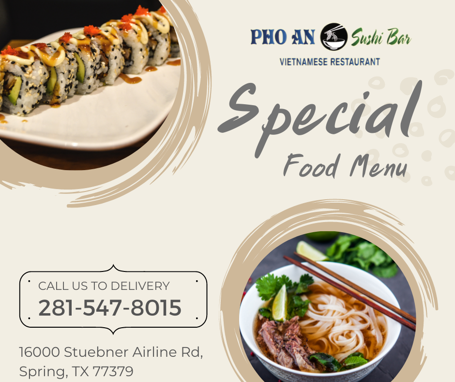 About us Pho An Sushi Bar Spring